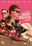 Baby Driver - Danish DVD movie cover (xs thumbnail)