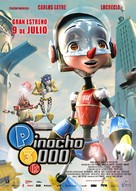 Pinocchio 3000 - Spanish poster (xs thumbnail)