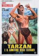 Tarzan the Ape Man - Italian Movie Poster (xs thumbnail)