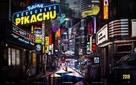 Pokémon: Detective Pikachu - French Movie Poster (xs thumbnail)