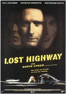 Lost Highway - German Movie Poster (xs thumbnail)