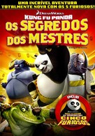 Kung Fu Panda: Secrets of the Masters - Brazilian DVD movie cover (xs thumbnail)