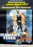 Diamonds Are Forever - Swedish Movie Poster (xs thumbnail)