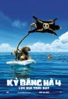 Ice Age: Continental Drift - Vietnamese Movie Poster (xs thumbnail)