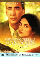 Captain Corelli's Mandolin - DVD cover (xs thumbnail)