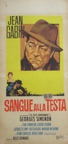Le sang à la tête - Italian Movie Poster (xs thumbnail)