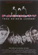 The Faculty - German Movie Poster (xs thumbnail)