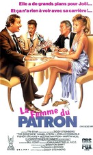 The Boss' Wife - French VHS cover (xs thumbnail)