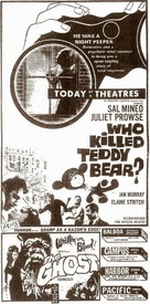 Who Killed Teddy Bear - poster (xs thumbnail)
