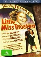 Little Miss Broadway - Australian DVD cover (xs thumbnail)
