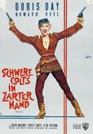 Calamity Jane - German Movie Poster (xs thumbnail)