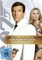 The Man With The Golden Gun - German DVD movie cover (xs thumbnail)