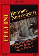 Histoires extraordinaires - Polish DVD cover (xs thumbnail)