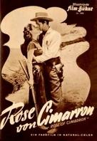 Rose of Cimarron - German poster (xs thumbnail)