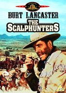 The Scalphunters - British DVD movie cover (xs thumbnail)