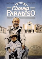 Nuovo cinema Paradiso - German Movie Poster (xs thumbnail)