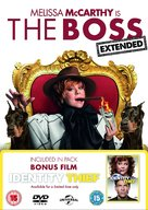 The Boss - British DVD movie cover (xs thumbnail)
