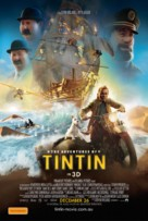 The Adventures of Tintin: The Secret of the Unicorn - Australian Movie Poster (xs thumbnail)