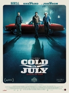 Cold in July - French Movie Poster (xs thumbnail)