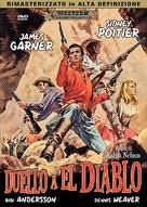 Duel at Diablo - Italian DVD movie cover (xs thumbnail)