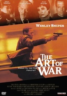 The Art Of War - German DVD cover (xs thumbnail)