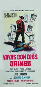 Vaya con dios gringo - Italian Movie Poster (xs thumbnail)