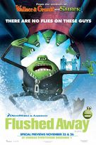 Flushed Away - British Movie Poster (xs thumbnail)