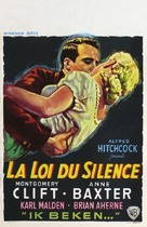 I Confess - Belgian Movie Poster (xs thumbnail)