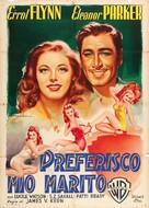 Escape Me Never - Italian Movie Poster (xs thumbnail)