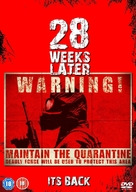 28 Weeks Later - British DVD movie cover (xs thumbnail)