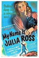 My Name Is Julia Ross - Movie Poster (xs thumbnail)