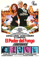 Firepower - Spanish Movie Poster (xs thumbnail)