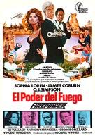 Firepower - Spanish Movie Poster (xs thumbnail)