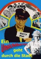 Ein Unsichtbarer geht durch die Stadt - German Movie Cover (xs thumbnail)