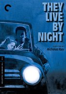 They Live by Night - DVD cover (xs thumbnail)