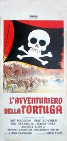 L'avventuriero della Tortuga - Italian Movie Poster (xs thumbnail)