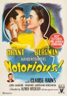 Notorious - Australian Movie Poster (xs thumbnail)