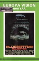 Alligator - Finnish Movie Cover (xs thumbnail)