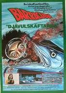 Barracuda - Swedish Movie Poster (xs thumbnail)