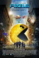 Pixels - British Movie Poster (xs thumbnail)