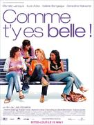 Comme t'y es belle! - French Movie Poster (xs thumbnail)