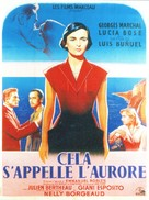 Cela s'appelle l'aurore - French Movie Poster (xs thumbnail)