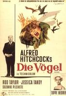 The Birds - German Movie Poster (xs thumbnail)