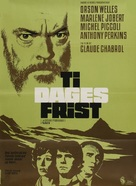 La décade prodigieuse - Danish Movie Poster (xs thumbnail)
