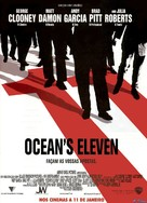 Ocean's Eleven - Portuguese Movie Poster (xs thumbnail)
