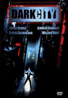 Dark City - Hungarian DVD cover (xs thumbnail)