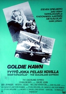 The Sugarland Express - Finnish Movie Poster (xs thumbnail)