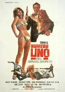 No. 1 of the Secret Service - Italian Movie Poster (xs thumbnail)