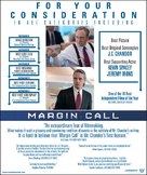 Margin Call - For your consideration movie poster (xs thumbnail)