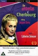 Les parapluies de Cherbourg - British DVD cover (xs thumbnail)